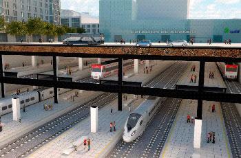 Proyecto Bilbobus - estación tren