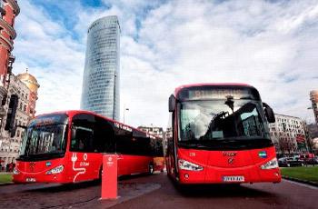 Proyecto Bilbobus - autobuses