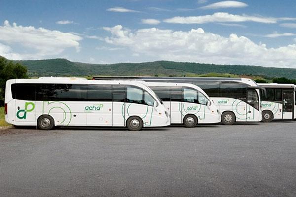 Sistema de conducción eficiente para el Grupo Acha