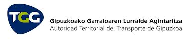 Logo Autoridad territorial de transporte de Gipuzkoa