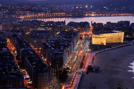 Datos de telefonía móvil para el Ayuntamiento de Donostia