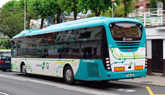 Mantenimiento de la planificación integrada del transporte público de gipuzkoa